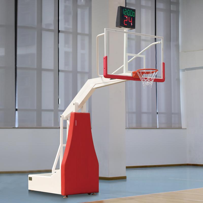 威海篮球架场地